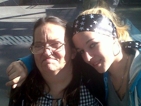 ma mère et ma soeur