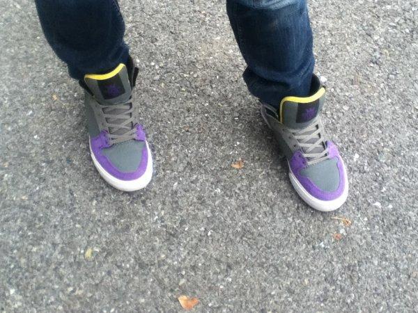 Les baskets de ma pote