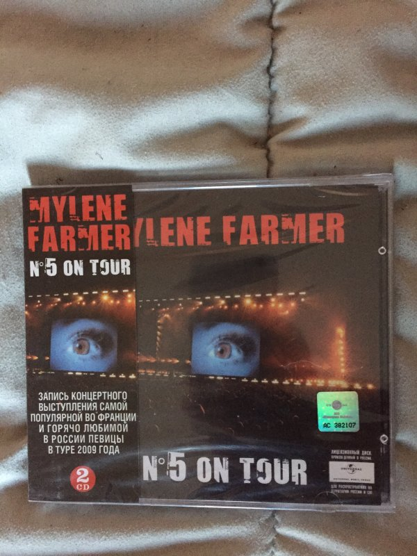 Album live N 5 on tour