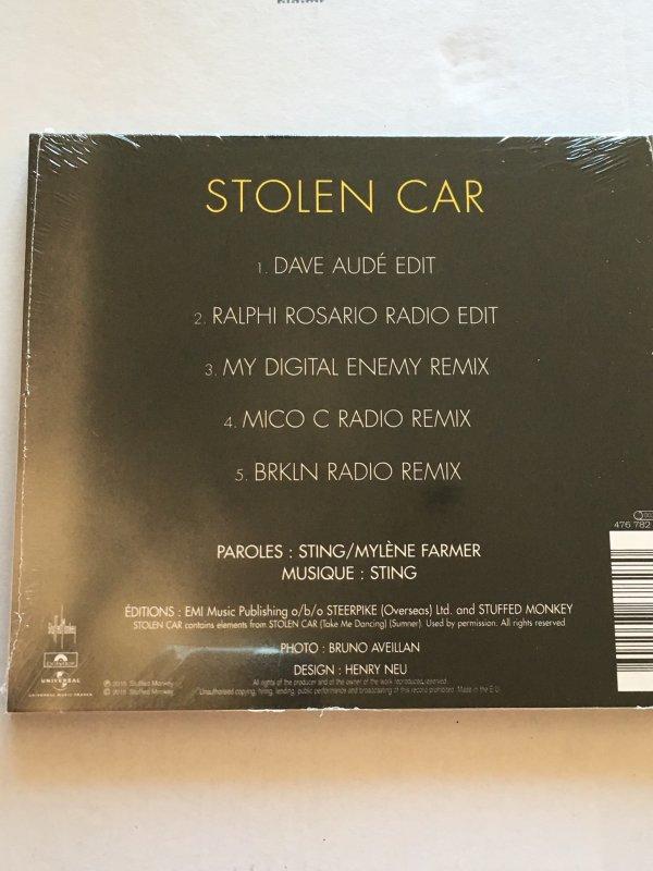 Single - Stolen car