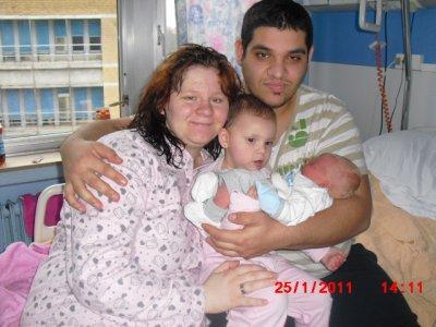 voila mon fils ma fille ma femme e moi