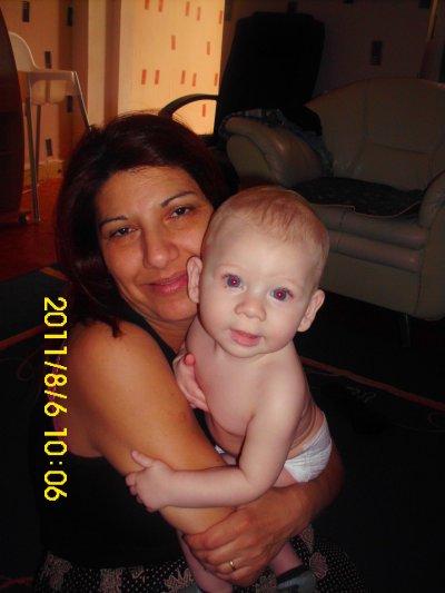 ma maman avec mon fils