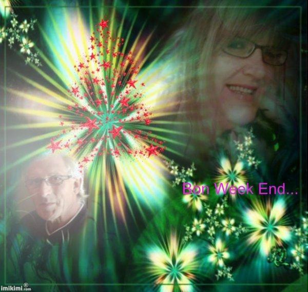 Je n'ai pas trop le temps en ce moment....mais je vous souhaite un bon W End..