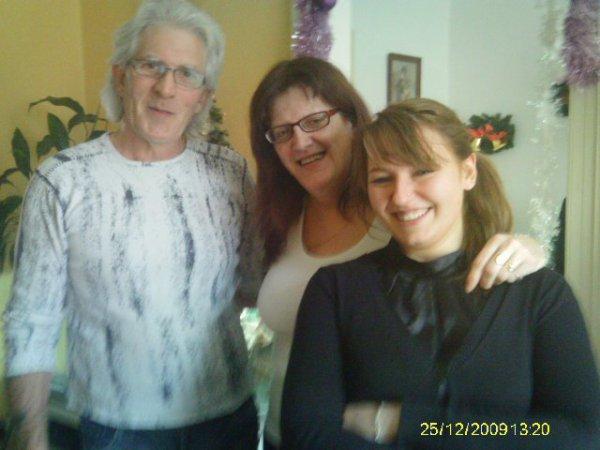 Mon homme ma belle fille et moi meme