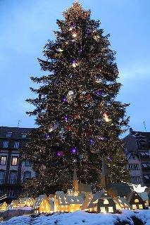 Les préparatifs de Noel à Strasbourg ...