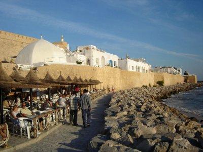 Hammamet café sidi bouhdid  Tunisie