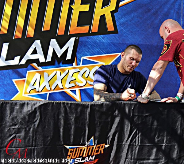 Randy Orton à Summerslam Axxes