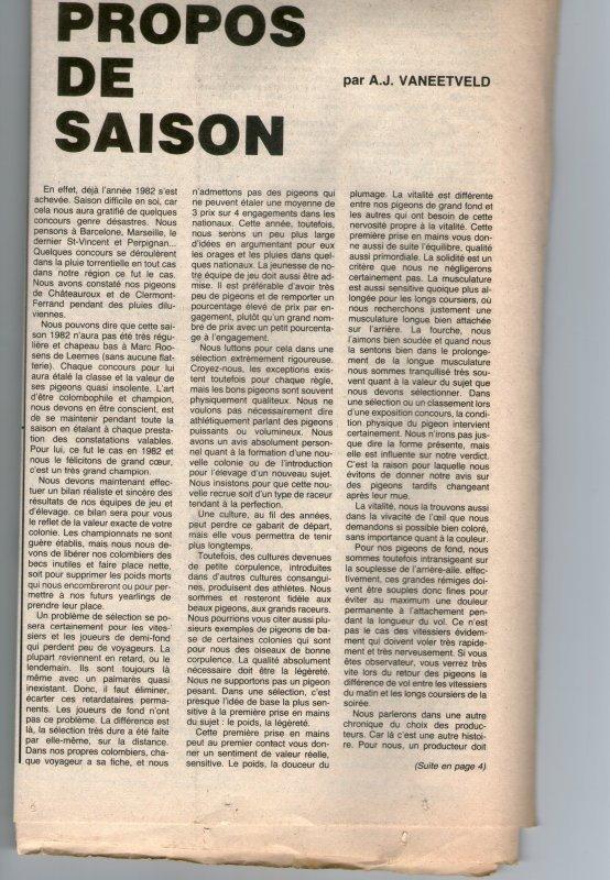 Propos de saison (1982)