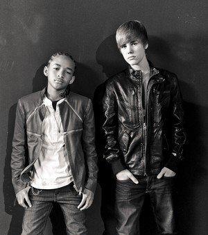 Justin et Jaden Smith