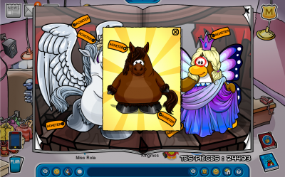 Secret catalogue mode pingouin et igloo