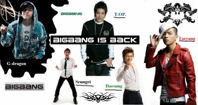 montage de Bigbang