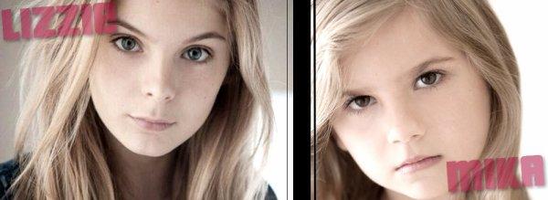 Mika et sa grande soeur Lizzie