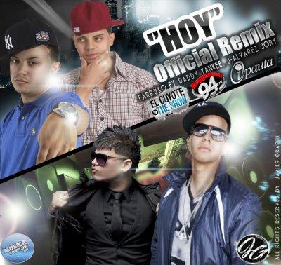 Daddy Yankee Mundial Prestige / Farruko ft Daddy Yankee, Jory, J Alvarez - Hoy (Remix) (2011)