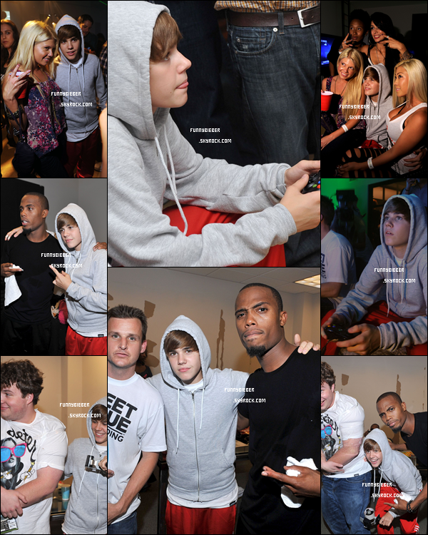 - Photos de Justin à la Halo Party organisé par XBOX - 8 Septembre -