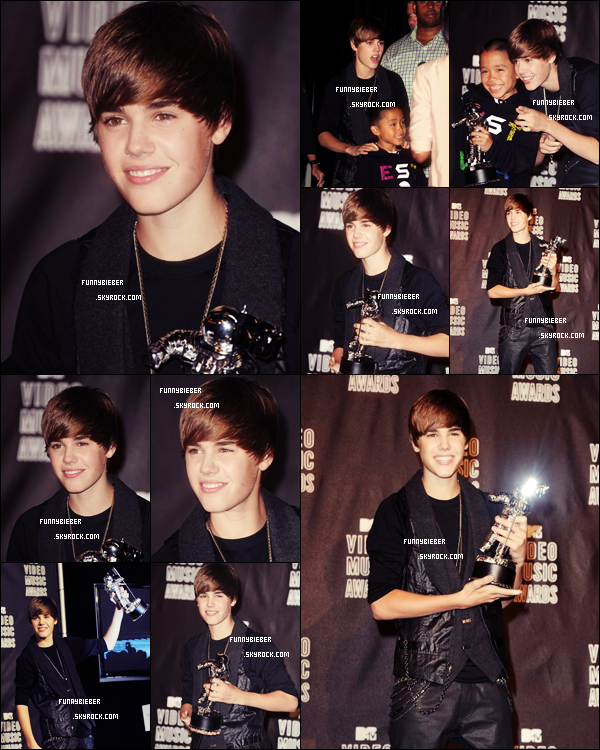 - JUSTIN AUX MTV MUSIC VIDEO AWARDS ! -