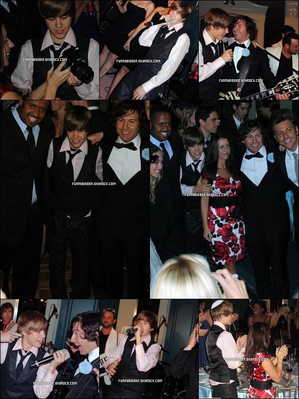 - - Photos de Justin au mariage de Dan Kanter ( son guitariste ) avec Yael Latner., qui a eu lieu à Toronto.  - -