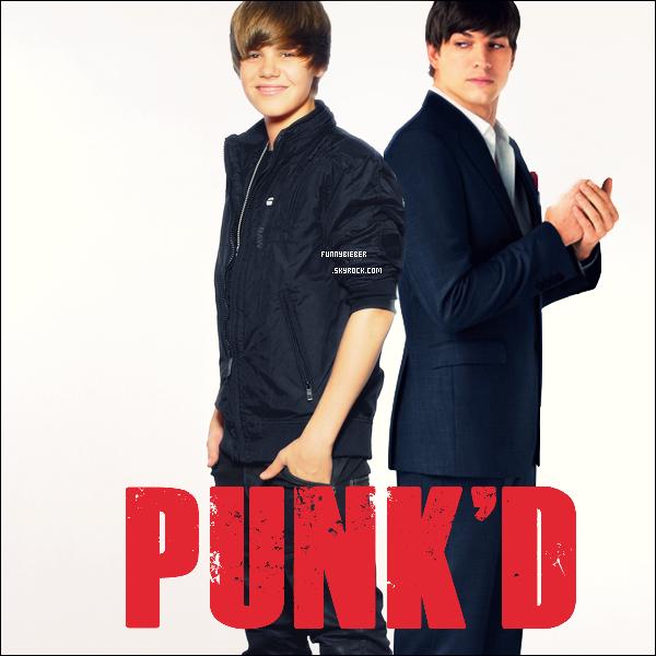 - - Justin dans Punk'D ?  - Pour le retour de l'émission d'Ashton Kutcher intitulé « Punk'D » (ou le principe est de piéger des stars) , et la rumeur court, et la rumeur court sur le fait qu'un des prochains invités piégés serait Justin (selon une source anonyme, dont l'information a été accordé au New York magazine et Deadline.com entre autre). Évidemment, la production se refuse à tout commentaire sur l'émission en général, sinon il serait dur après justement de les piéger. Va falloir donc attendre… source : JW.net - -
