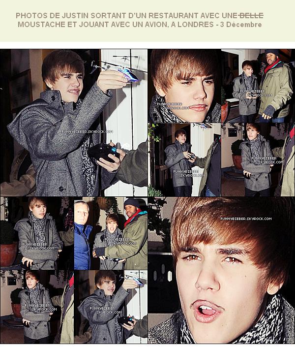 - - Photos de Justin allant à la radio BBC à Londres - Angleterre - 3 Décembre  - -