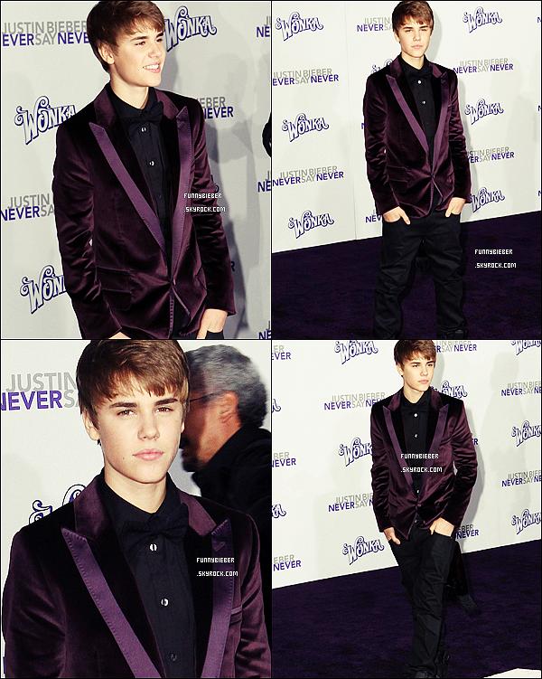 - -Avant première de Never Say Never à Los Angeles - 9 Février - -