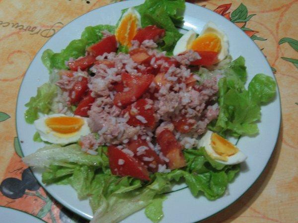 salade composée aux thon