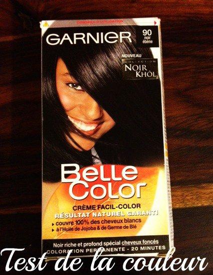 nouvelle coloration cheveux