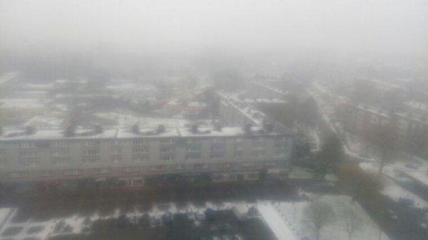 Neige dans le 62