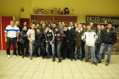 Nouvelle équipe de la section Boxe Anglaise Stade Clermontois