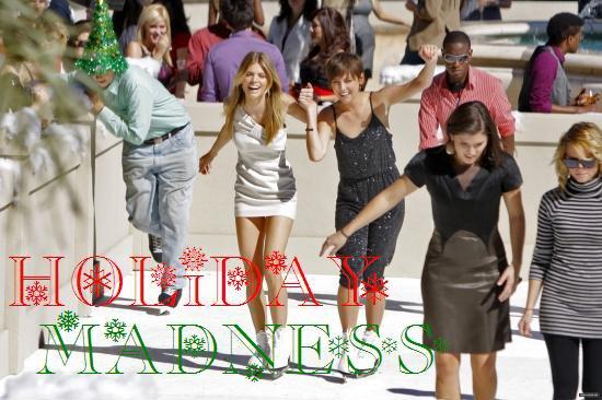Holiday Madness Episode 3.11 Résumé