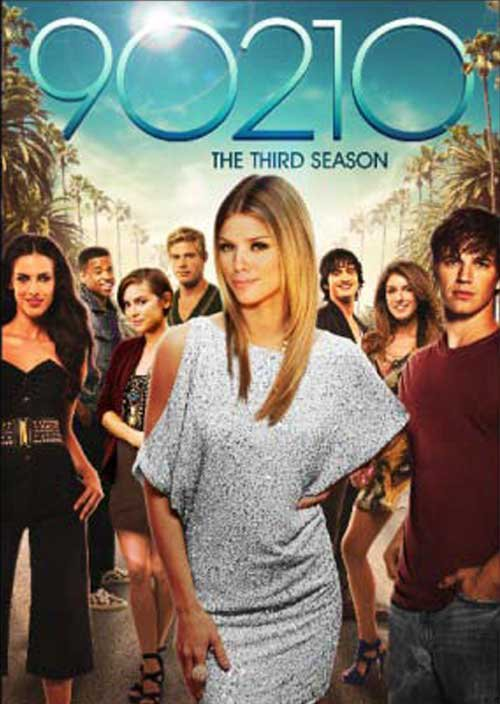 90210 - The Third season on DVD au USA