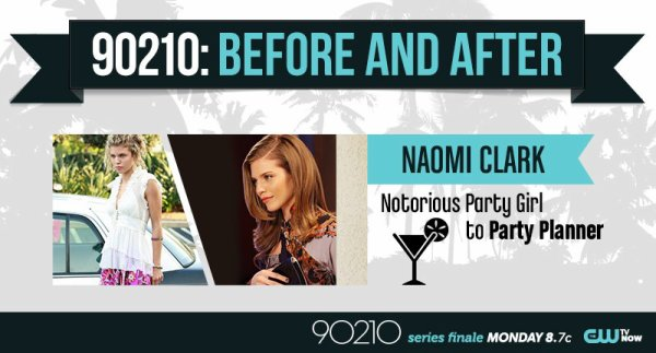 90210:  Before and After Stills