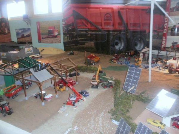 exposition au lycée professionnel agricole à bapaume