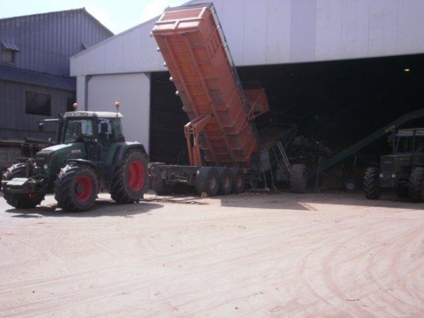 arrachage pommes de terres chez Decerisy à bapaume