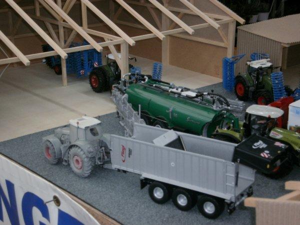 exposition miniature Gamm vert à Bapaume de ropa62 avec la participation de Valtra-du-62128