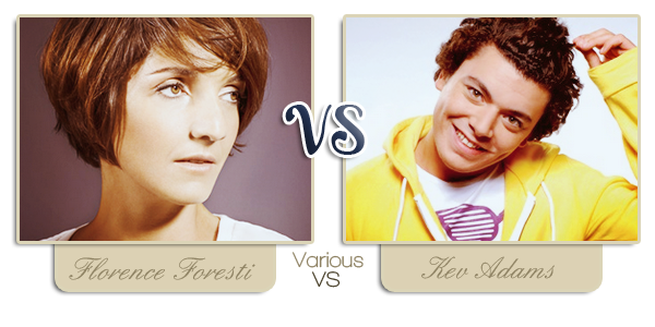 ~ Florence Foresti VS Kev Adams ~
