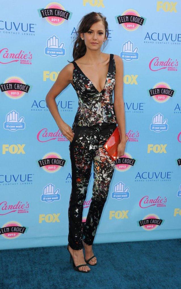 11/08/2013 : Nina était au Teen Choice Awards
