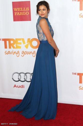 8/12/2013 : Nina s'est rendu au TrevorLIVE LA Honoring Jane Lynch And Toyota à Los Angeles