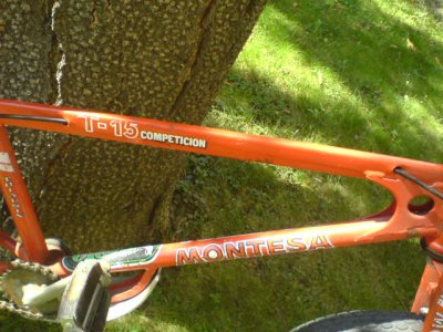 TRIAL MONTESA T15 COMPETITION ANNEE 1980