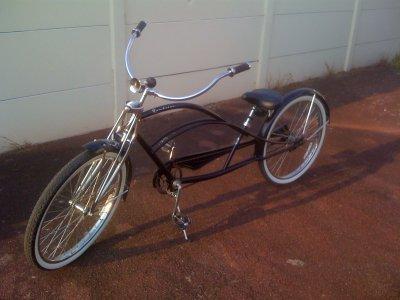 Vélo fait maison ya du taff la man!!! ON THE ROAD!!!
