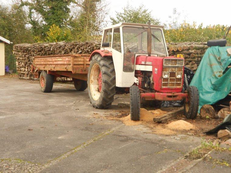 tracteur et bene