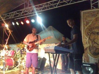 Dans l'avion destination Reggae sunplash festival