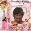 kdo d'anniversaire de mon amie Princesse reveuse ( Véro) , merci ..