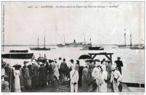 débarquadère à Cayenne