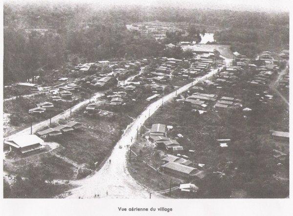 village de Cacao en  1980 environ