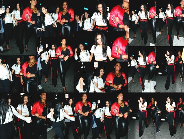 - 16.03.17 ─ Notre Shay Mitchell est photographiée en allant à la boîte de nuit « Tao » dans les rues de Los Angeles[/s#00000ize]C'est une sortie bien tardive pour Shay, qui va prendre un peu de bon temps avec certains de ses amis. Je n'aime pas du tout la tenue qu'elle porte. Avis? -