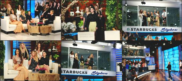 - 12.04.17 ─ Notre belle Shay Mitchell était présente sur le plateau du « Ellen Degeneres Show » dans Los Angeles ![/s#00000ize]Shay M. et le reste du cast de PLL se sont rendu sur le plateau de Ellen afin de promouvoir la dernière partie de la saison 7, qui sort dans quelques jours ! -