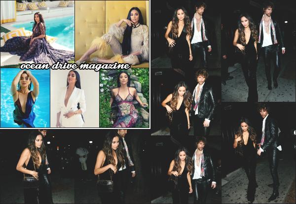 - 28.04.17 ─  Shay s'est rendue à là soirée d'anniversaire de Jessica Alba au « Peppermint Club » dans Los Angeles ![/s#00000ize]La soirée d'anniversaire de Jessica Alba avait pour thème « Prince VS Micheal ».  Shay fait aussi la couverture du magazine Ocean Drive édition de mai !!  -