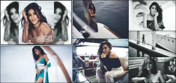 """"""" • Shay Mitchell fait la couverture du magazine « LaPalme » édition printemps 2017 !   -"""