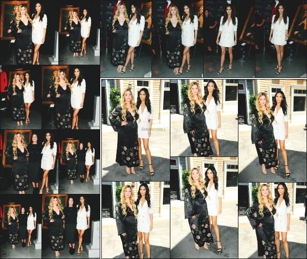 - 14.06.17 ─ La jolie Shay M. s'est rendue à la soirée « Pretty Little Liars : Made Here » qui avait lieue à Hollywood !![/s#00000ize]La ravissante actrice à notamment posé avec sa co-star Sasha Pieterse, c'est un immense top que je lui accorde, le blanc lui va à ravir. Qu'en penses tu ? -