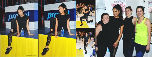 - 12.08.17 ─ La sublime actrice Shay M. s'est rendue au  « Co Labs Fitness Festival  » qui avait lieu dans Los Angeles.[/s#00000ize]Peu de photos sont disponibles, mais nous pouvons voir que la jeune femme s'est beaucoup amusé lors de ce festival spécial fitness. Qu'en pensez vous ? -