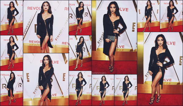 - 02.11.17 ─ La magnifique actrice Shay Mitchell était invitée à l'événement « REVLON Awards » situé à Los Angeles.[/s#00000ize]Après des semaines sans nouvelles, elle pointe enfin le bout de son nez dans une tenue des plus ravissante, je suis moins fan du maquillage assez Dark ! -